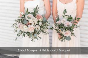 BridalBouquetBridesmaidBouquet