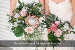 MutedBridal&BridesmaidBouquet